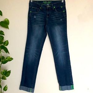 Justice Youth Girls Jeans Sz 14R